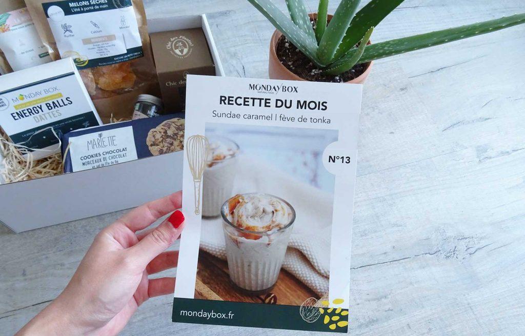 Monday box coquillages & crustacés recette