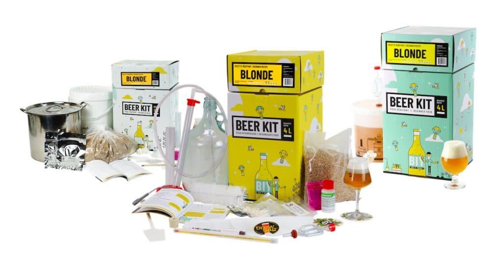 Le kit de brassage de bière de saveur-biere