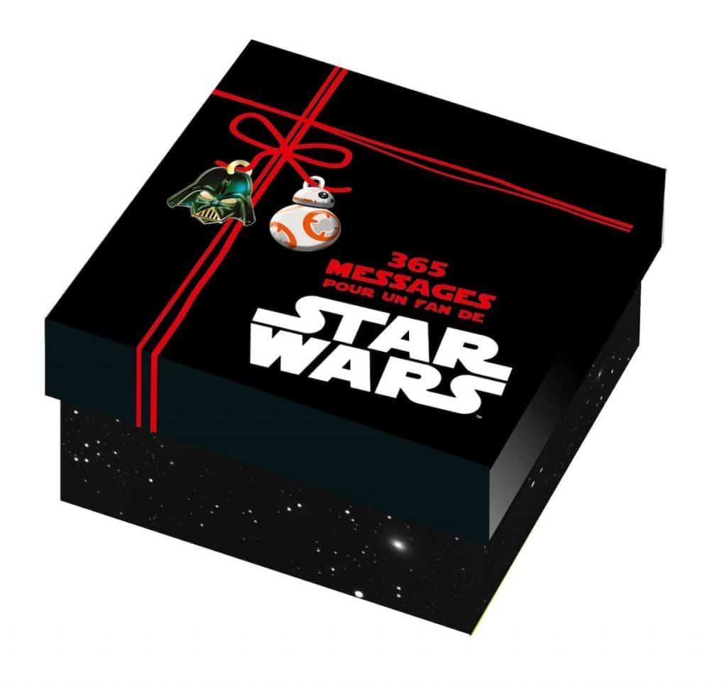 4. Star Wars : 365 messages pour un fan