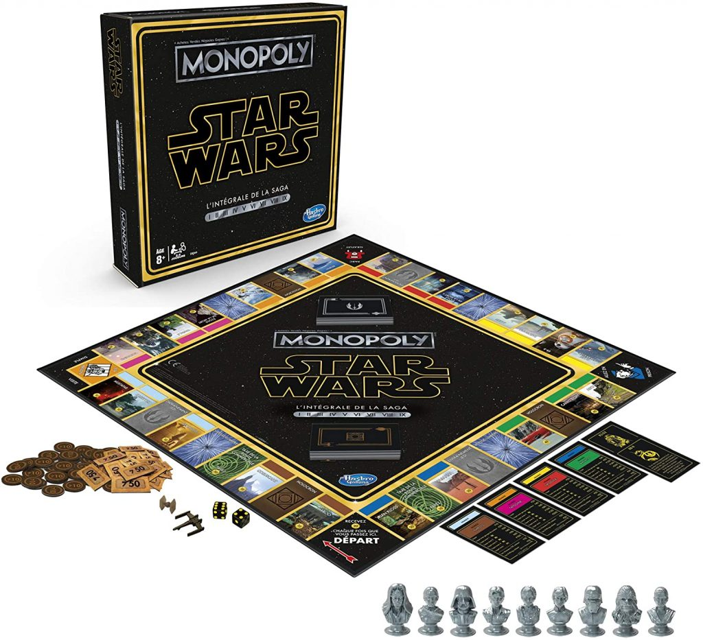 6. La saga Star Wars Monopoly