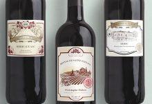 bouteille vin personnalisée