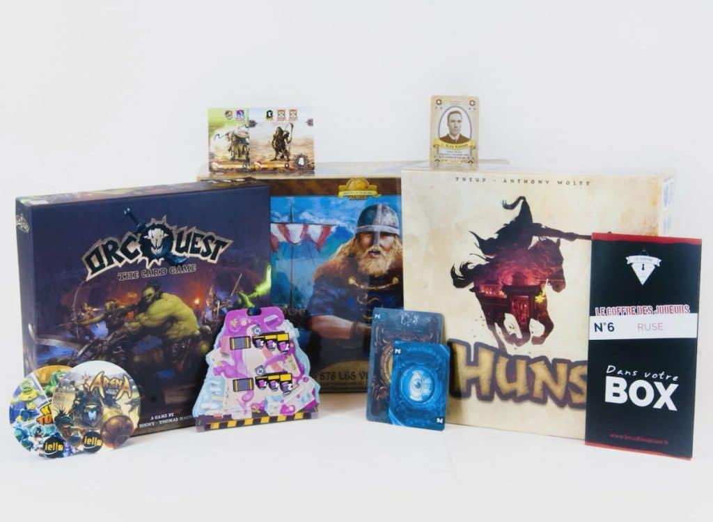 MyLudikBox, le dernier-né des box jeux de société