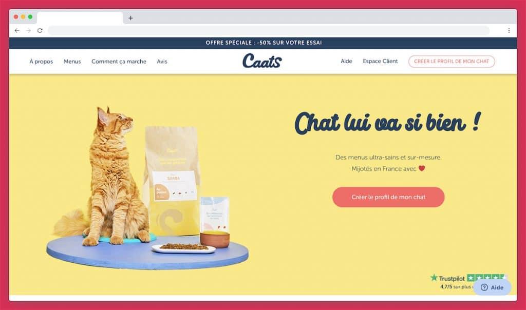 Caats, les algorithmes pour créer la meilleure Croquette sur mesure pour chat
