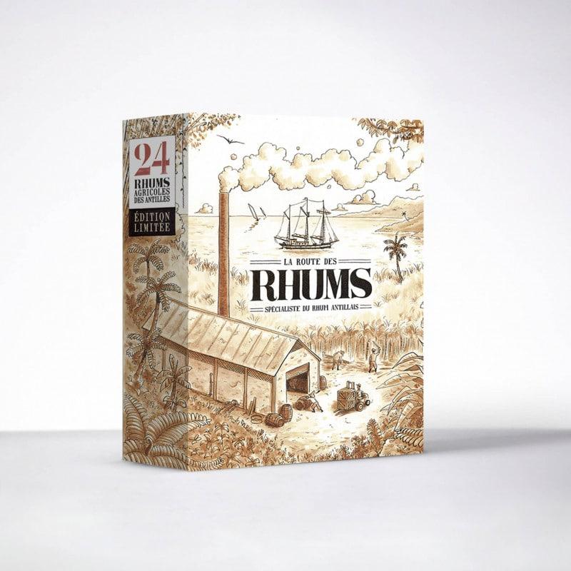 La Route des Rhums : un calendrier de l'Avent Rhum avec une dégustation à l'aveugle
