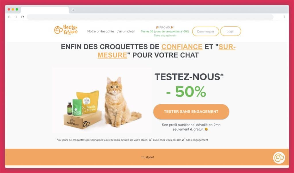 Hector Kitchen, la croquette sur mesure pour chat made in France... and Germany