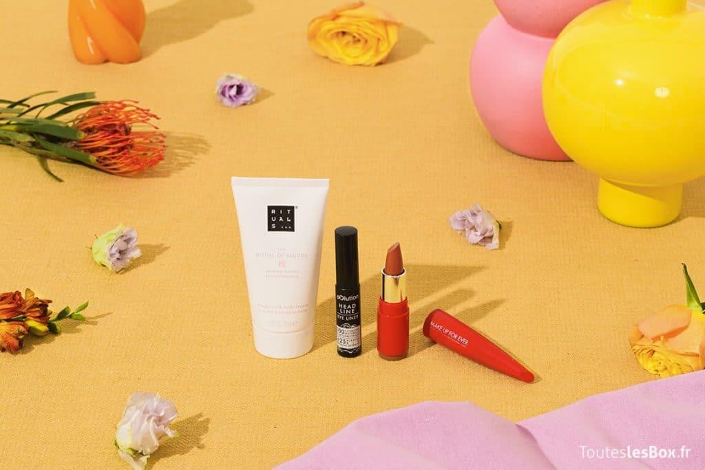 Les produits de beauté de la My Little Box d'octobre 2021