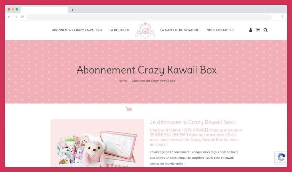 La Crazy Kawaii Box, immersion dans l'univers kawaii