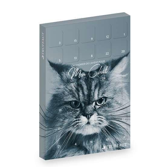 Le calendrier de l'avent pour mon chat par Truffaut