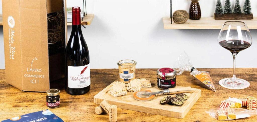 Mets Vins : l'abonnement à une bouteille de vin et plus si affinité