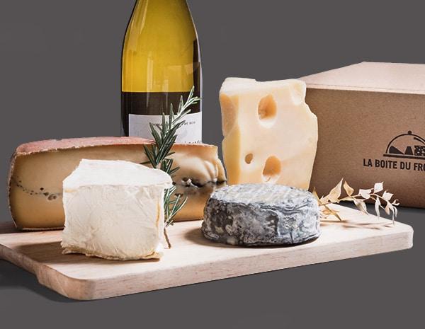 La Boite du Fromager : l'abonnement vin avec du fromage