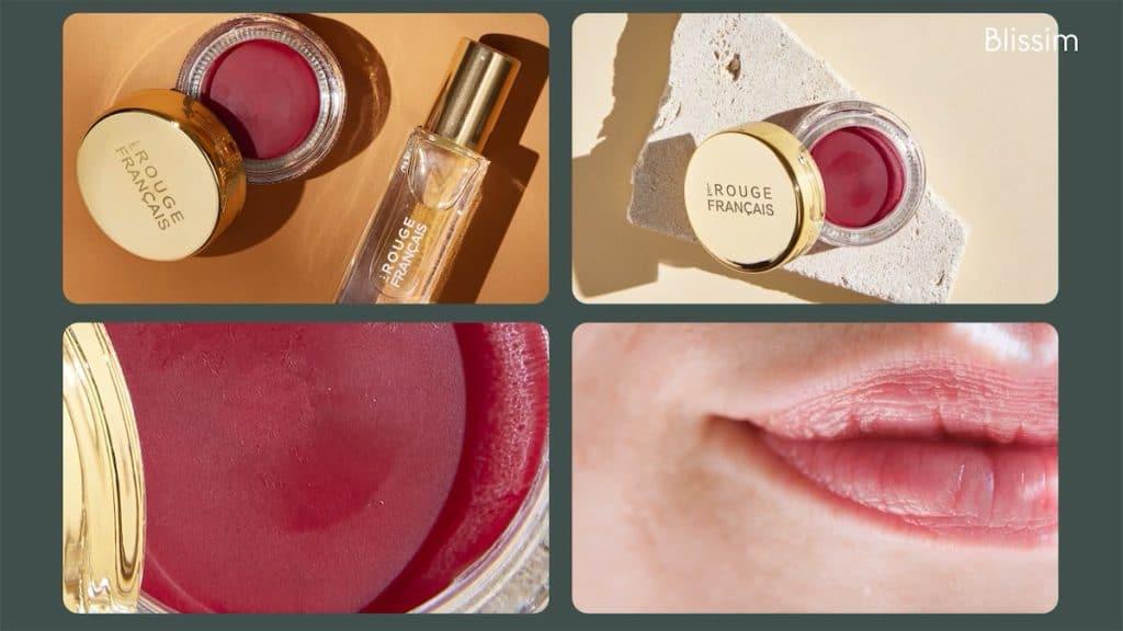 Un soin pour les lèvres de la marque le Rouge Français à choisir entre huile lèvres ou baume teinté dans la Blissim d'octobre 2021