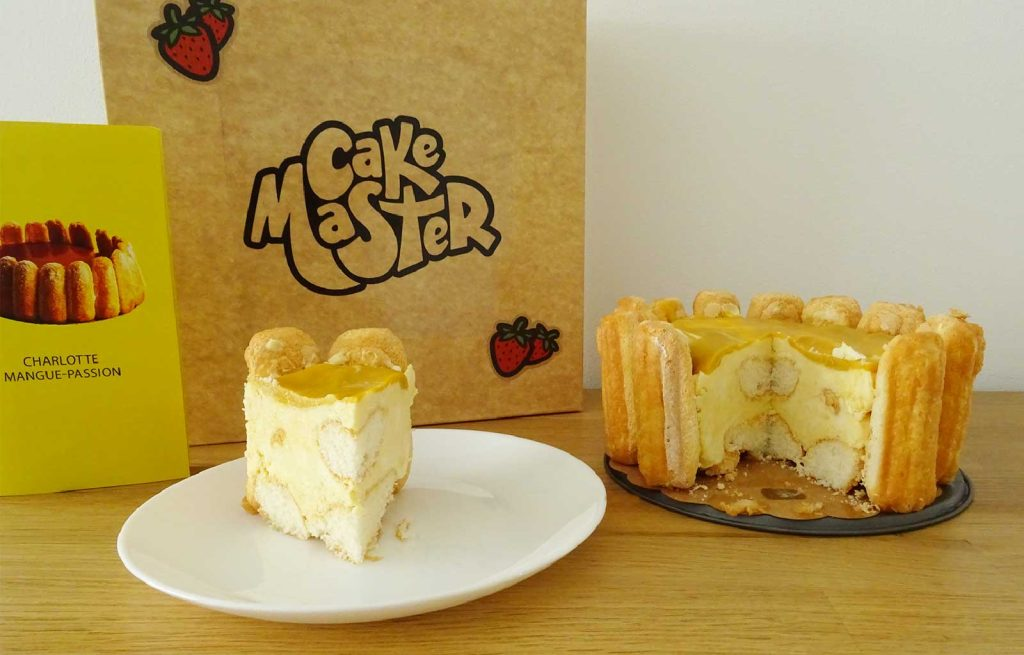 Cake Master charlotte mangue passion