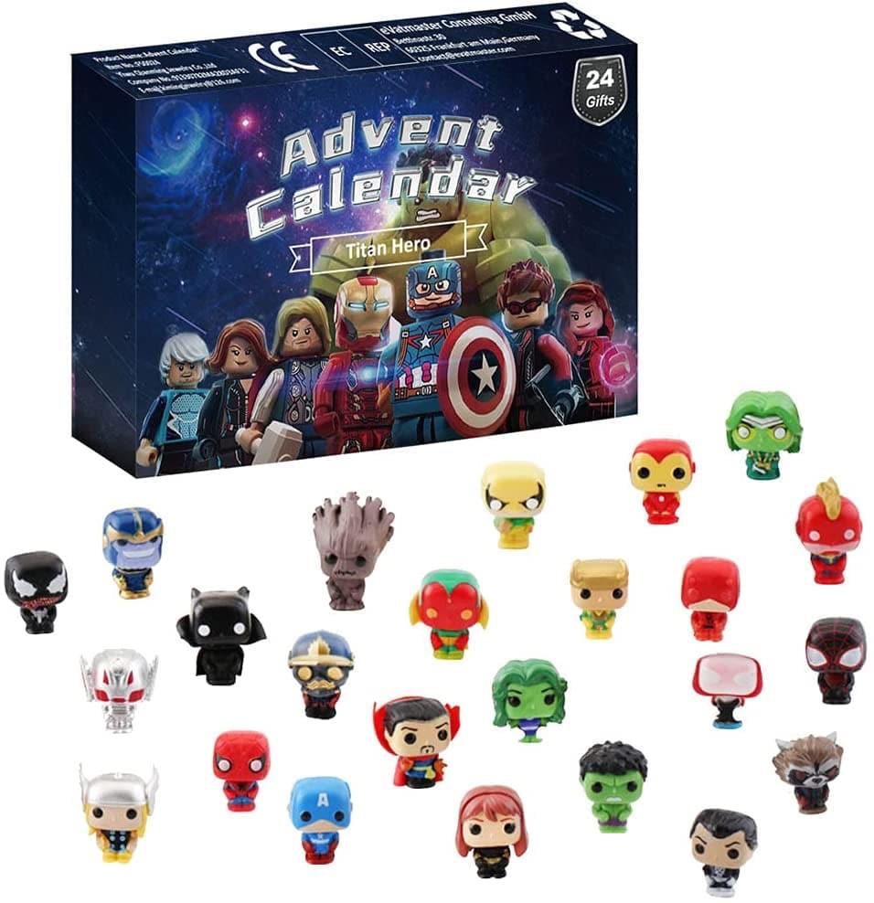Le calendrier de l'avent Geek Avenger Bstcar