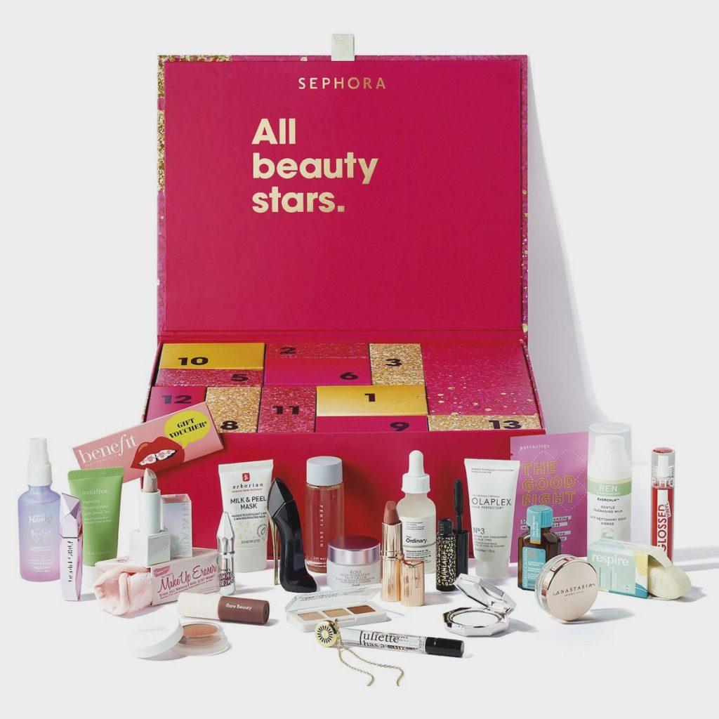 Le calendrier de l'avnet maquillage de Sephora