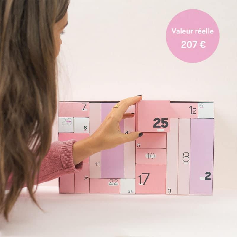Mademoiselle-bio : le calendrier de l'avent Bio
