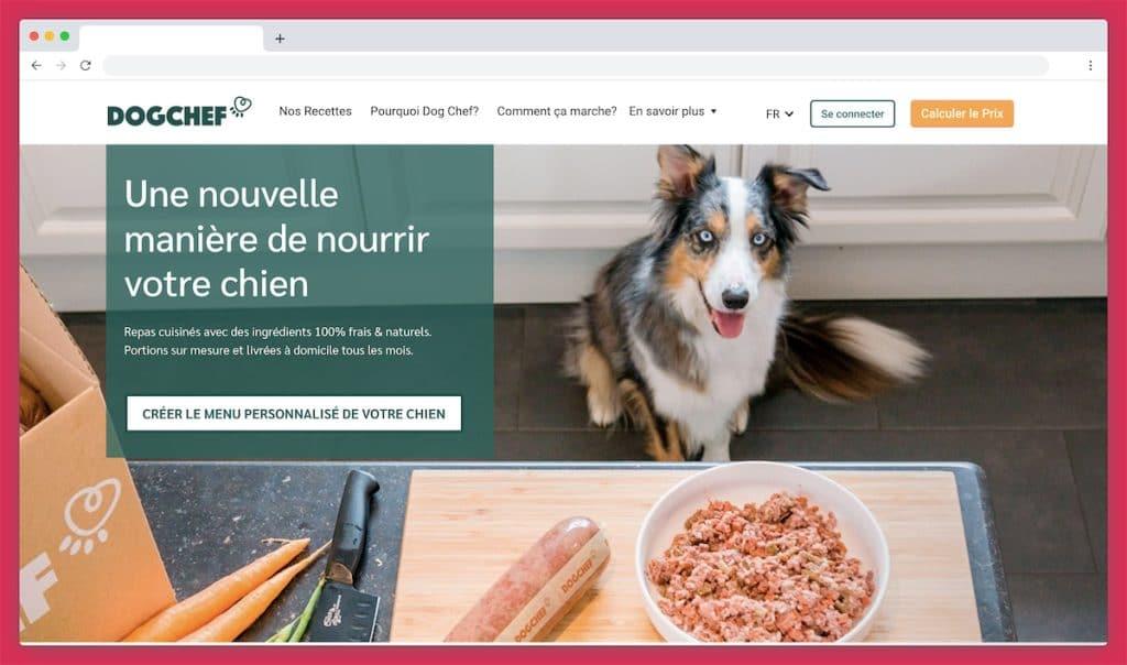 Dogchef : la croquette gastronomique