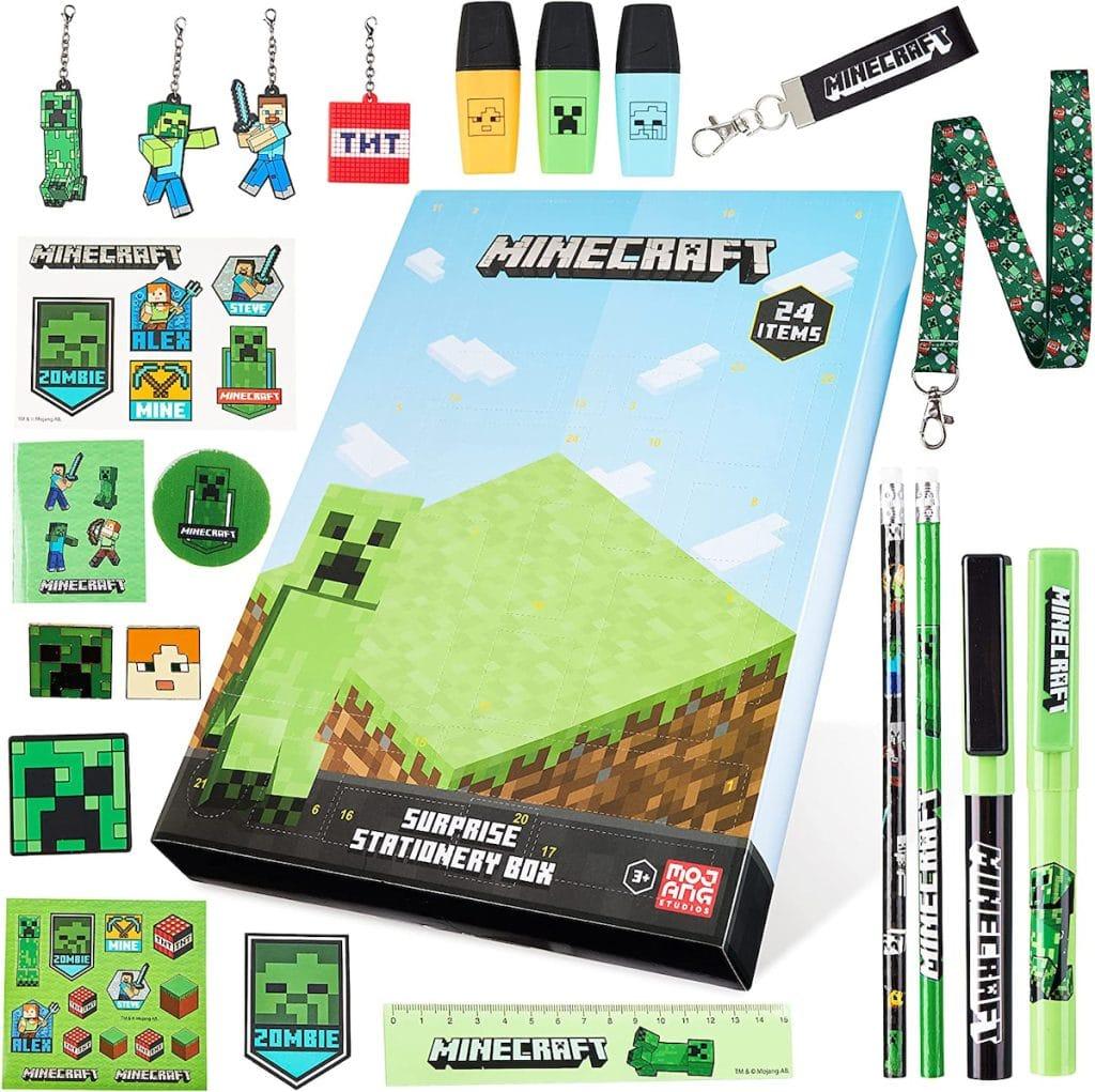 Le calendrier de l'avent Geek Minecraft